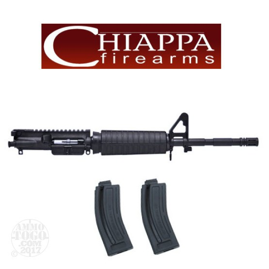 "1 - Chiappa .22 LR M4-22 Complete 16"" Upper Receiver"