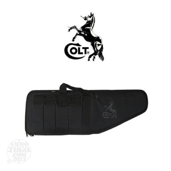 "1 - Colt Standard Tactical Gun Case 35"" Black by Bulldog"
