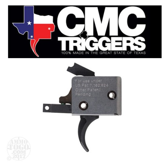 1 - CMC Triggers AR-15 Curved Single Stage Match Trigger w/ Standard Pins