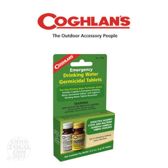 1 - Coghlan's Emergency Two-Step Drinking Water Purification System