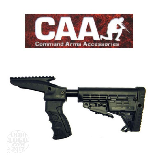 1 - CAA Rem 870 Integrated Pistol Grip, Upper Picatinny Rail, Buffer Tube & Stock