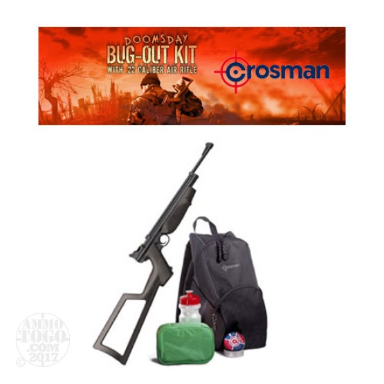 1 - Crosman Doomsday Bug Out Kit w/ .22 Air Rifle