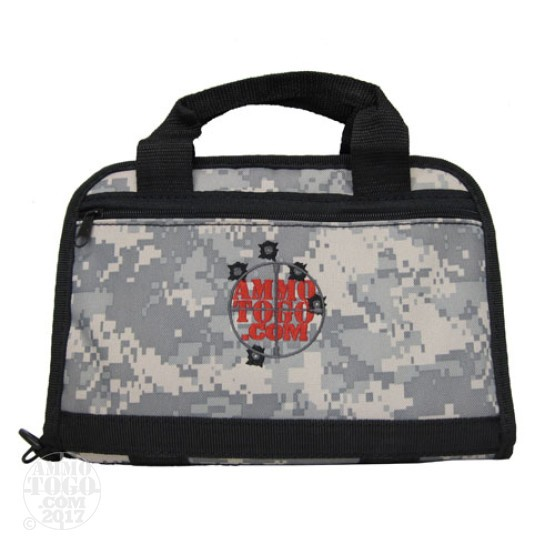 "1 - Max-Ops 11"" Tactical Pistol Case Digital Camo w/Ammo To Go Logo"