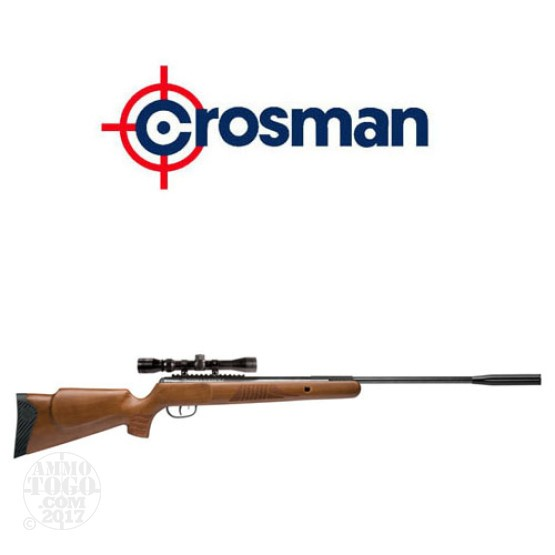 1 - Crosman Nitro Venom Hardwood Break Barrel .177 cal. Pellet Rifle with Scope