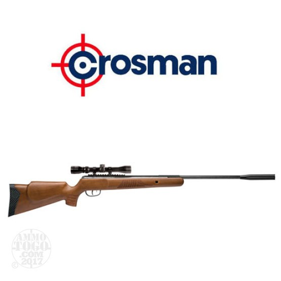 1 - Crosman Nitro Venom Hardwood Break Barrel .22 cal. Pellet Rifle with Scope