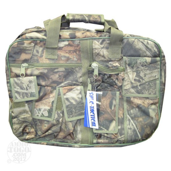 "1 - Spec-Tactical 19"" Tactical Range Bag Camo"