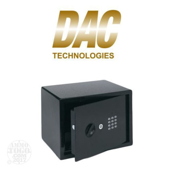 "1 - DAC Technologies Electric Lit Keypad 14""x10""x10"" Black Digital Security Safe"