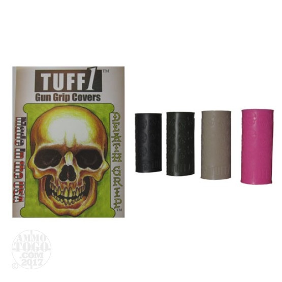 1 - Tuff1 Gun Grip Cover Death Grip Black