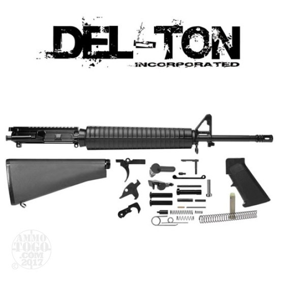 """1 - Del-Ton 5.56 Rifle Kit w/ 20"""" Complete Forged AR-15 Upper Receiver"""