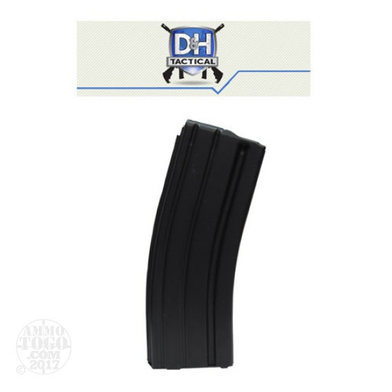 1 - D & H Industries AR-15 Aluminum 30rd. Pinned to 10rd. Mag Black