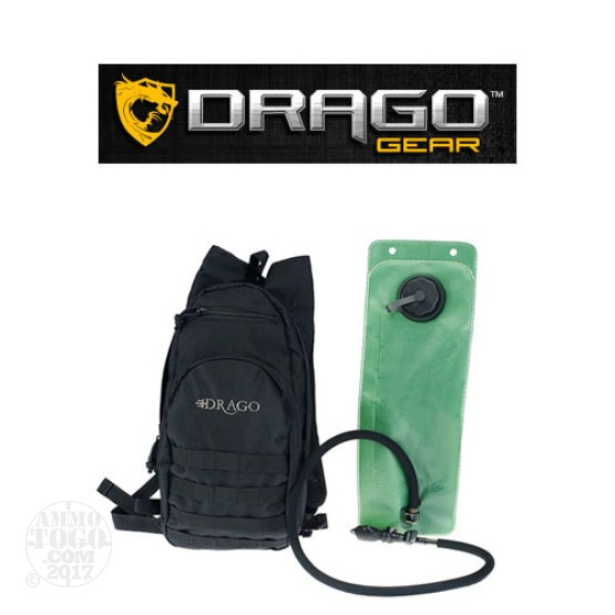 1 - Drago Hydration Pack Black