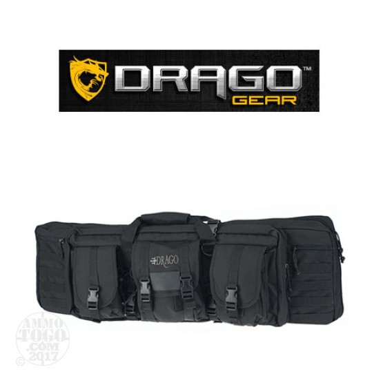 "1 - Drago Gear 36"" Single Rifle Case Black"