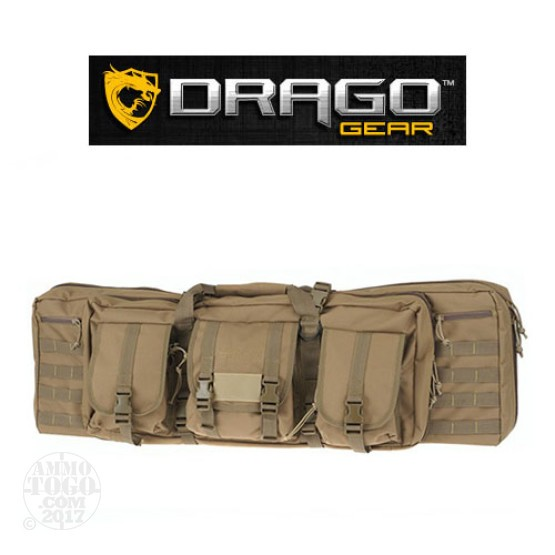"1 - Drago Gear 36"" Single Rifle Case Tan"