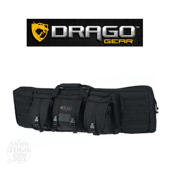 "1 - Drago Gear 42"" Single Rifle Case Black"