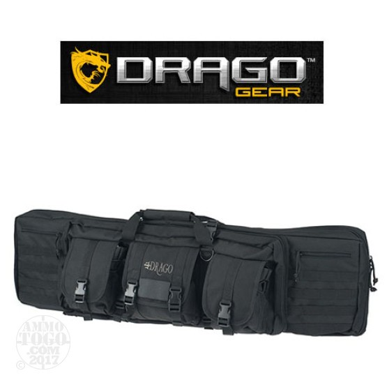"1 - Drago Gear 42"" Double Rifle Case Black"