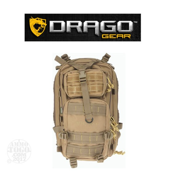 1 - Drago Tracker Backpack Tan