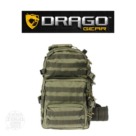 1 - Drago Assault Backpack Green