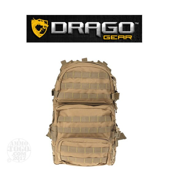 1 - Drago Assault Backpack Tan