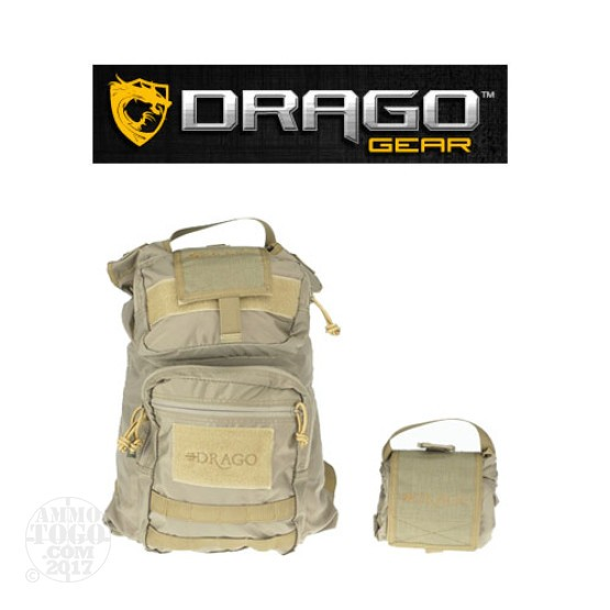 1 - Drago Collapsible Backpack Tan