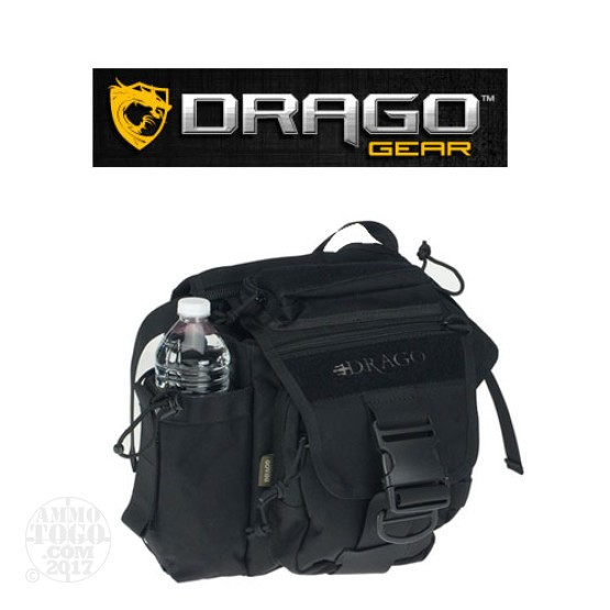 1 - Drago Hiker Shoulder Pack Black