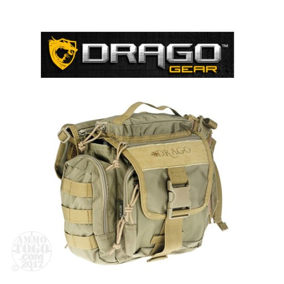 1 - Drago Officer Shoulder Pack Tan