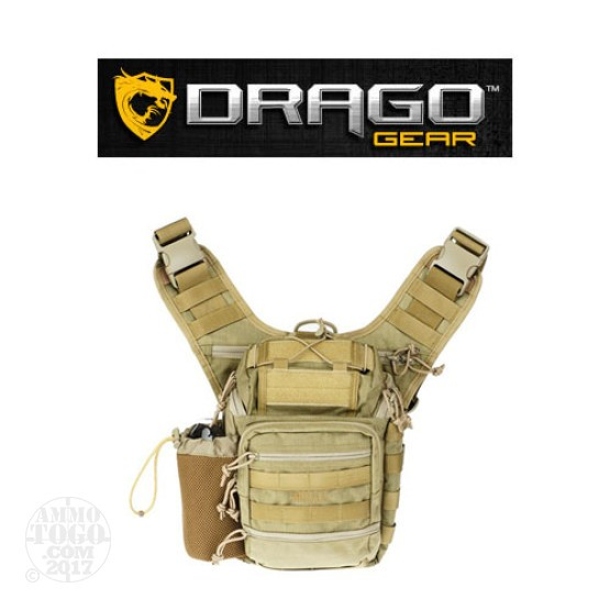 1 - Drago Ambidex Shoulder Pack Tan