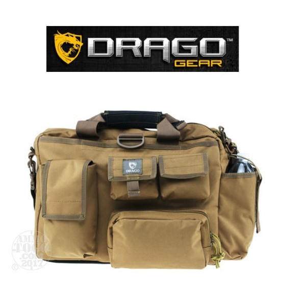 1 - Drago Executive Laptop Bag Tan