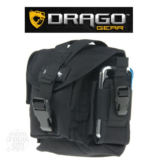1 - Drago Tactical Belt Bag Black