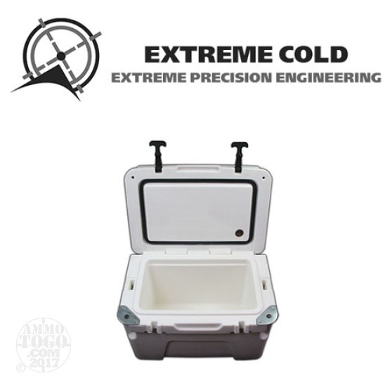 1 - Extreme Cold 25 Liter Ultimate Ice Chest Marine White