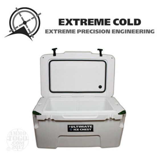 1 - Extreme Cold 50 Liter Ultimate Ice Chest Marine White
