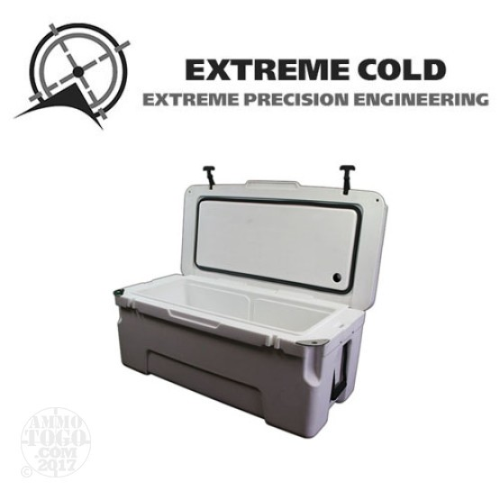 1 - Extreme Cold 75 Liter Ultimate Ice Chest Marine White