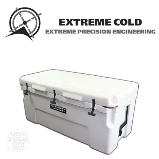 1 - Extreme Cold 100 Liter Ultimate Ice Chest Marine White