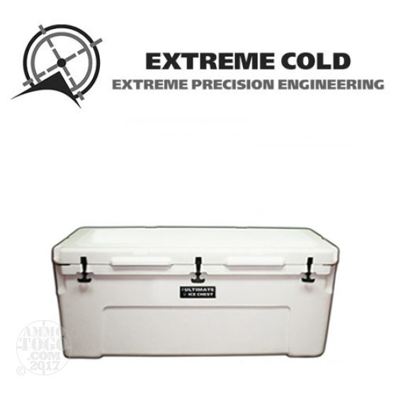 1 - Extreme Cold 150 Liter Ultimate Ice Chest Marine White