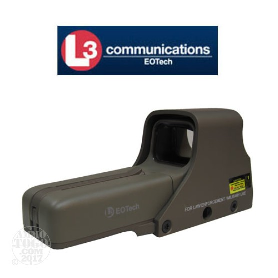 1 - EOTech 512 Holographic Weapon Sight w/A65 Reticle Tan Color