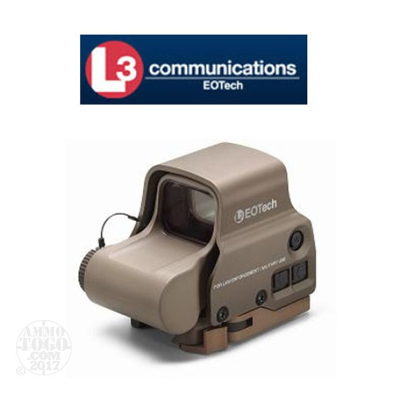 1 - EOTech EXPS3-0TAN Holographic Weapon Sight w/A65 Reticle