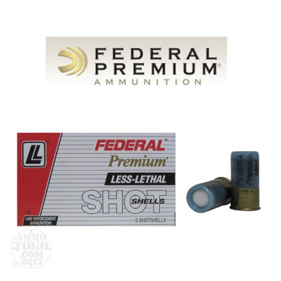 5rds - 12 Gauge Federal Premium Muzzle Flash Bang Ammo