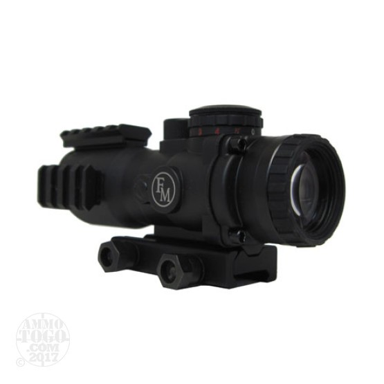 1 - FM Prismatic 4x32MM Red & Green Illuminated Mil Line Reticle