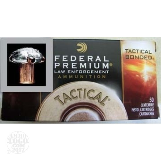 20rds - .223 Federal LE Tactical Bonded 55gr. SP Ammo