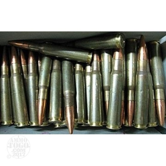 100rds - 50 Cal. BMG French Military Reassembled 685gr. Ball Amm