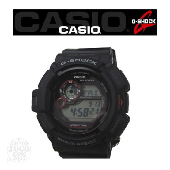 1 - Casio G-Shock G9300 Tough Mudman Watch Black