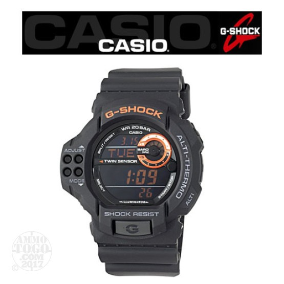 1 - Casio G-Shock GDF100 TAC Outdoorsman Watch Black