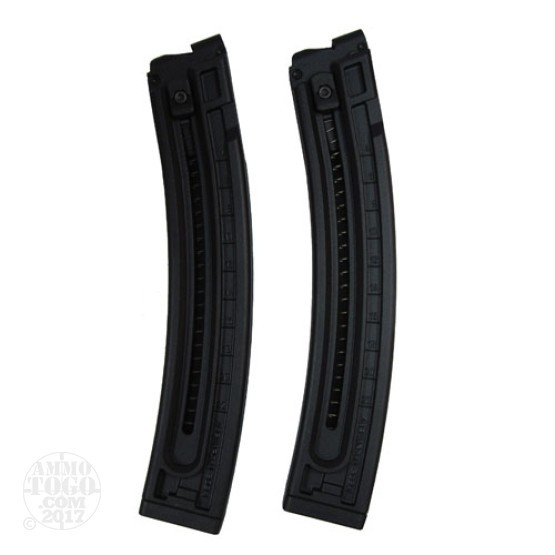 1 - German Sport (GSG-522) 22LR 22Rd. Magazine Two-Pack Black