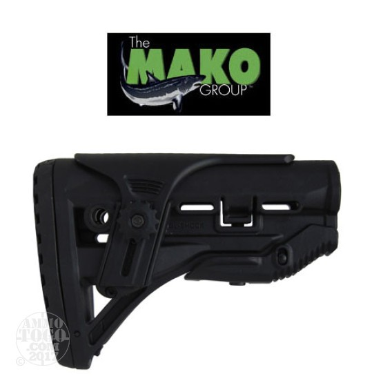 1 - Mako AR15 Recoil Reducing Buttstock and Cheek Riser