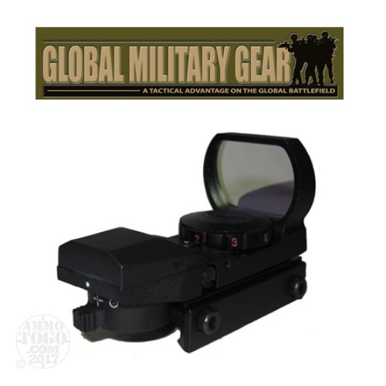 1 - GMG Tactical Red/Green Dot Sight 4 Reticle