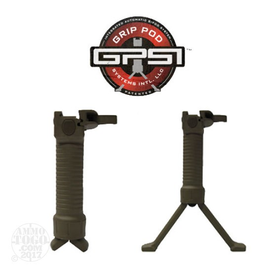 1 - Grip Pod Military Grip w/ Deployable Bipod Tan
