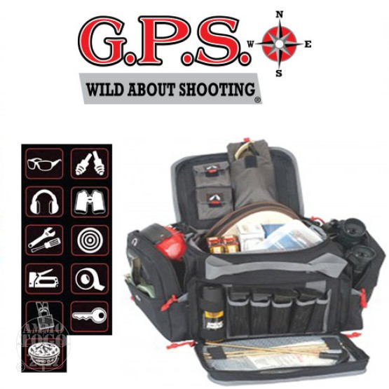 1 - GPS Medium Range Bag Black