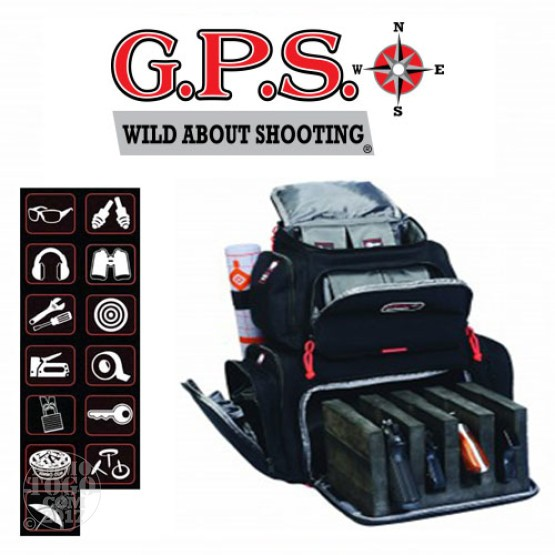 1 - GPS Handgunner Backpack Black