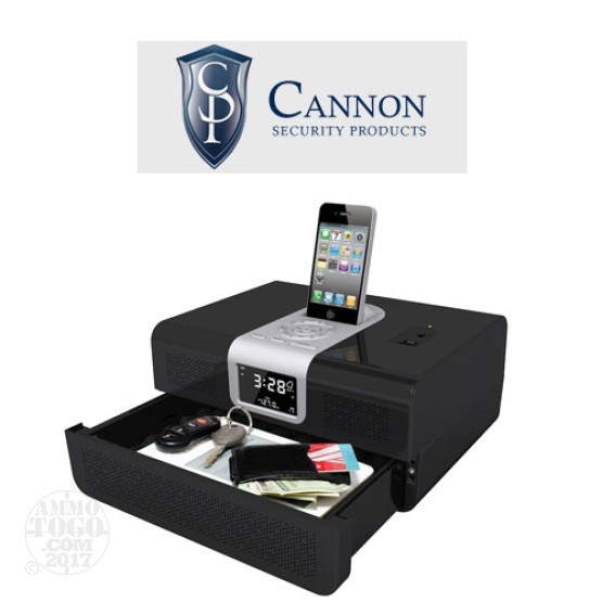 1 - Cannon Gunvault  iPod Radio Vault Biometric Safe Instant Access Security