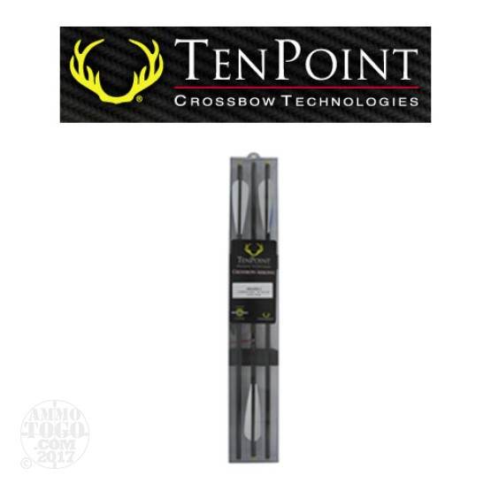 "1 - TenPoint Pro Elite Carbon 20"" SB CAP Crossbow Arrows 3 Pack"