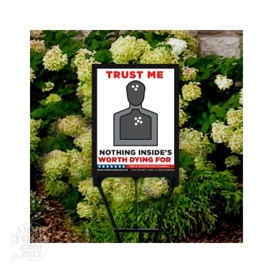 "1 - Home Invasion Sign 9"" X 11.25"" with Display Stake"